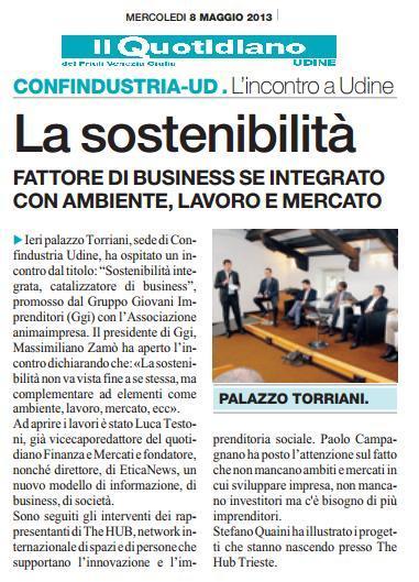 IIl Quotidiano FVG - 8 maggio 2013